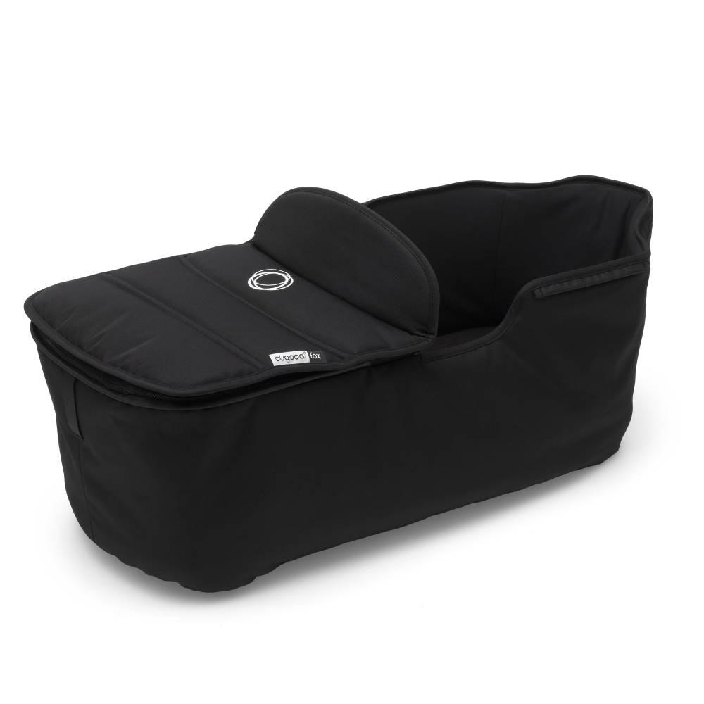 BUGABOO Fox Carrycot Tailored Fabric Set - Black