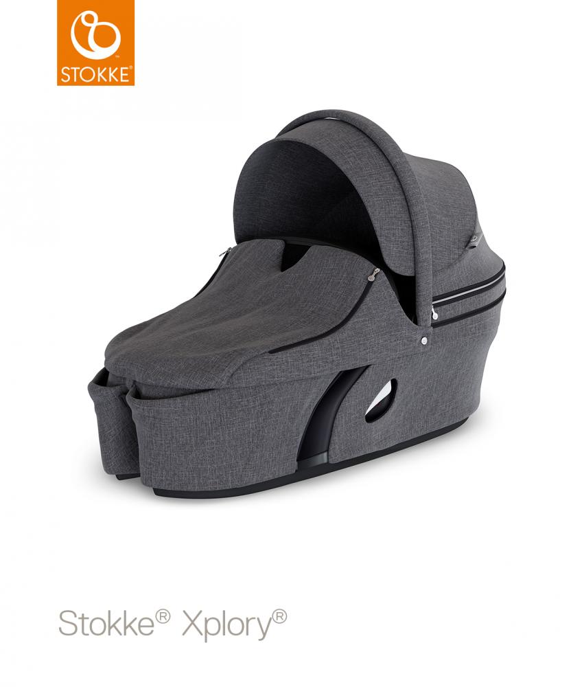 STOKKE Xplory Carrycot V6 - Black Melange