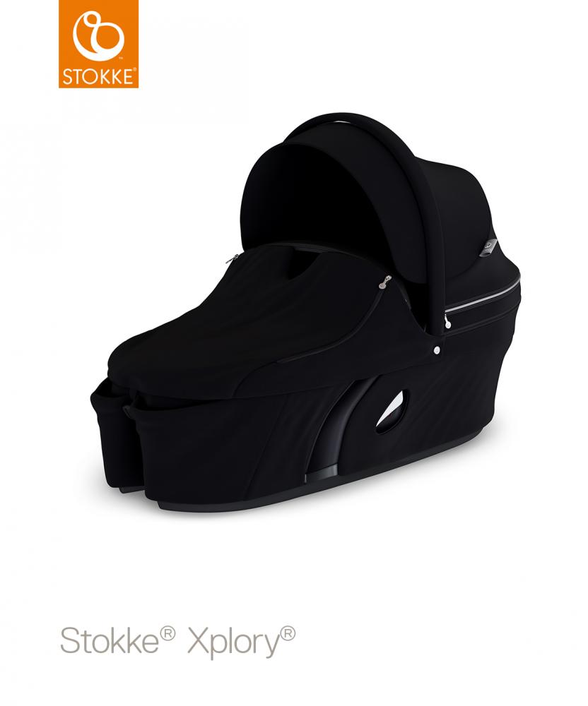 STOKKE Xplory Carrycot V6 - Black