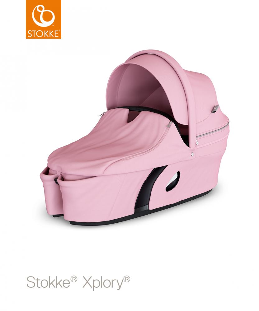 STOKKE Xplory Carrycot V6 - Lotus Pink