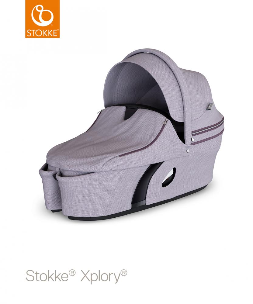 STOKKE Xplory Carrycot V6 - Brushed Lilac