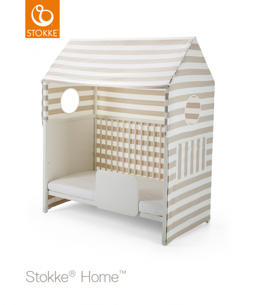 STOKKE Home Bed Tent Beige Stripe