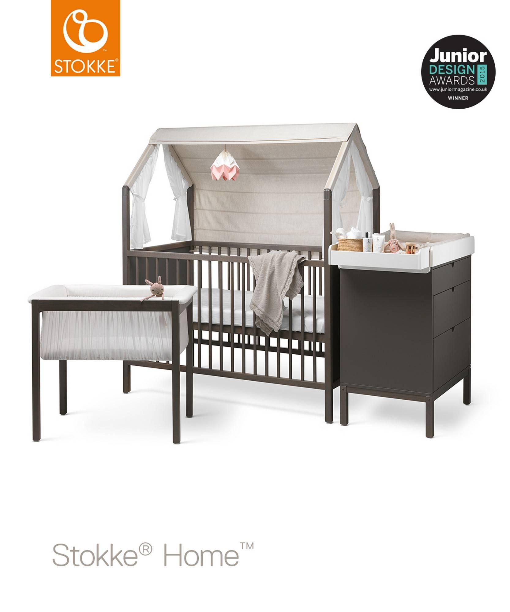 Hazy Grey Stokke Home Cradle