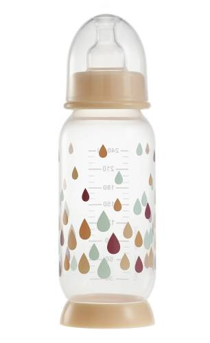 BEABA Bottle 240ml  - Rainbow Nude