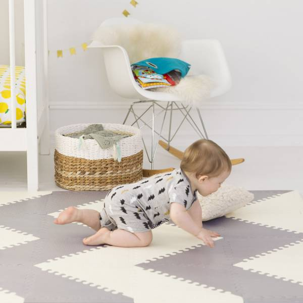 SKIP HOP Playspot Grey Cream