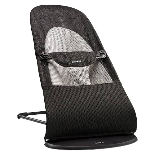 BABYBJORN Bouncer - Mesh Black Grey