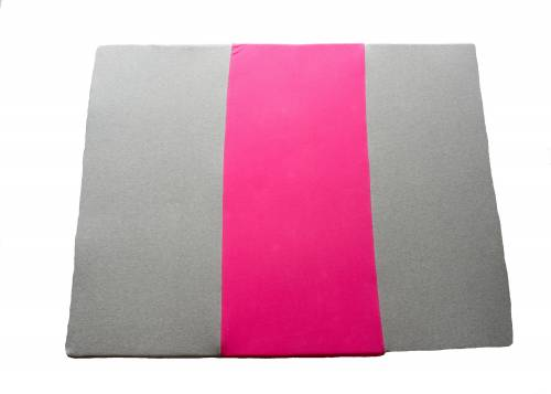 SIMPLY Good Soft Rolled Mat Pink/Grey