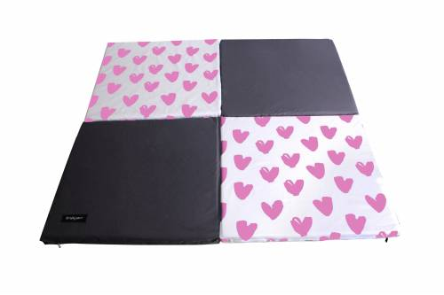 SIMPLY Good Portable Soft Mat Pink Heart