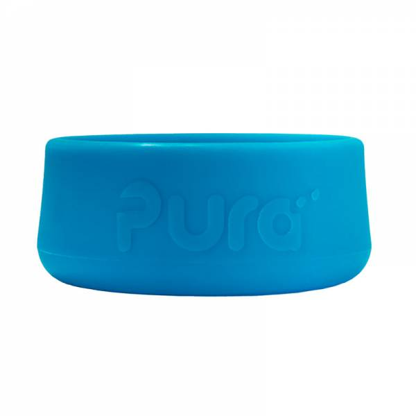 PURA Silicone Bottle Bumper Ocean Blue