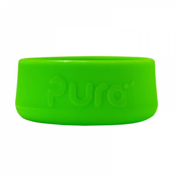 PURA Silicone Bottle Bumper Green
