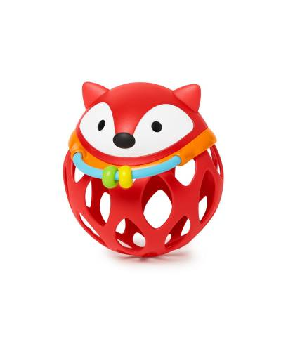 SKIP HOP Explore&More Roll Around Rattle Fox
