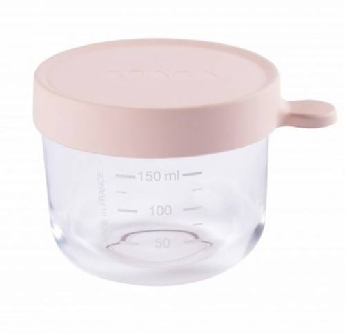 BEABA Food Jar Glass 150 ml - Pink