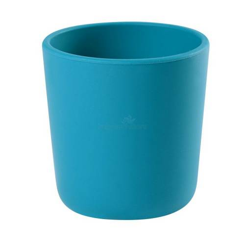 BEABA Silicone Glass - Blue