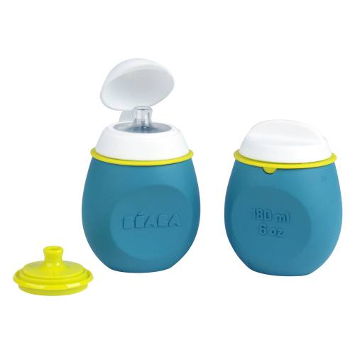 BEABA BabySqueez 2 in 1 - Blue