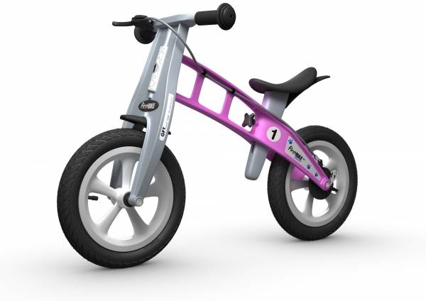 FIRSTBIKE Street with Brake - Pink