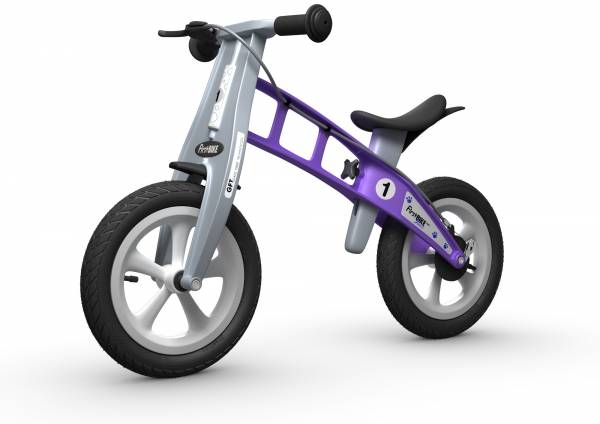 FIRSTBIKE Street with Brake - Violet