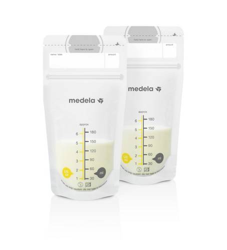 MEDELA Pump & Save Bags x 50