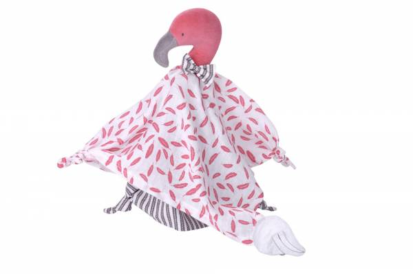 KIKADU Towel Doll - Flamingo
