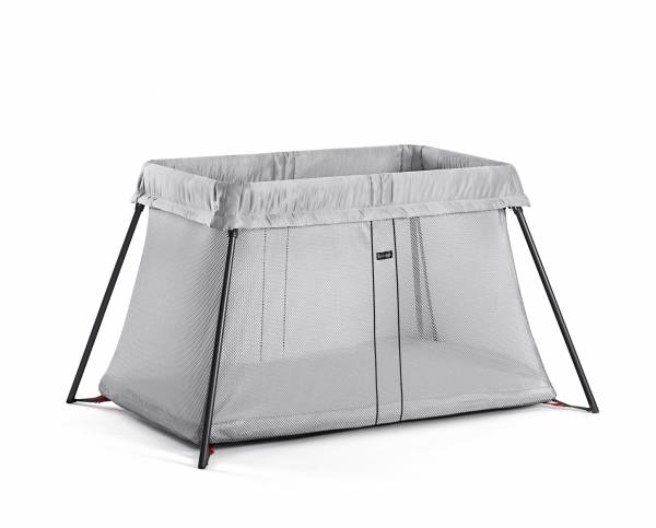 BABYBJORN Travel Cot Silver