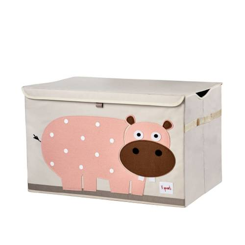 3 SPROUTS Toy Chest - Hippo