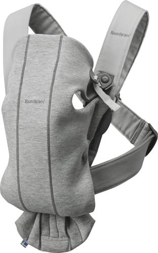 BABYBJORN Carrier Mini 3D jersey Light Grey