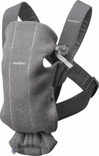 BABYBJORN Carrier Mini 3D jersey Dark Grey