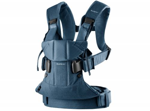 BABYBJORN Carrier One - Denim Midnight Blue Cotton