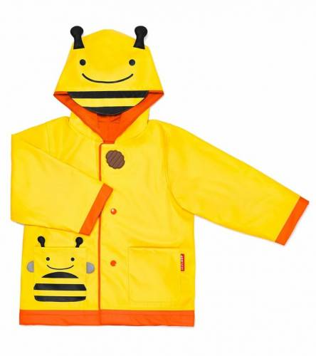 SKIP HOP Zoo Raincoat Bee Size 3-4