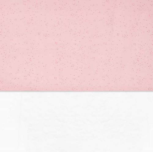 JOLLEIN Sheet 120x150 Mini Dots Blush Pink