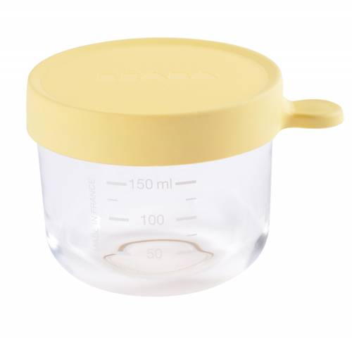 BEABA Food Jar Glass 150 ml - Yellow