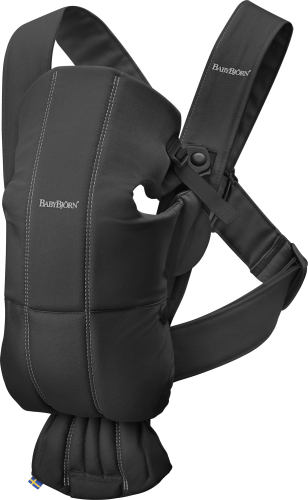BABYBJORN Carrier Mini Cotton Black