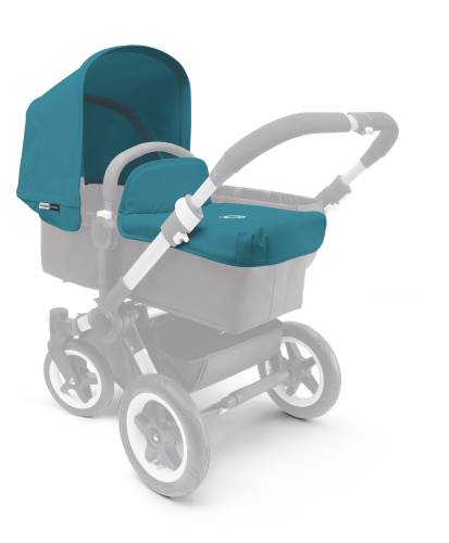 BUGABOO Donkey Fabric Set Extendable - Petrol Blue