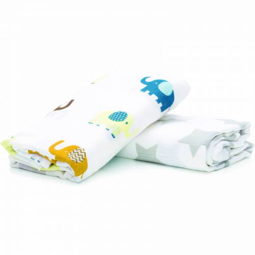 FILLIKID Muslin Nappies2pcs 120x120cm for Boys