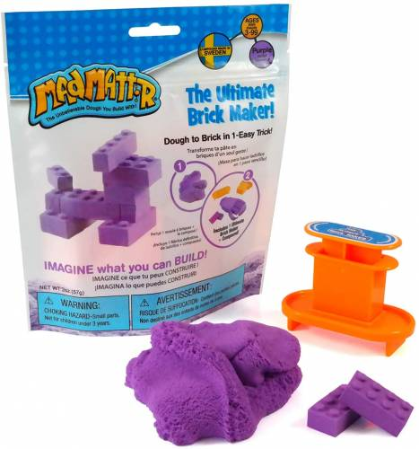 Mad Mattr The Ultimate Brick Maker 57g - Purple