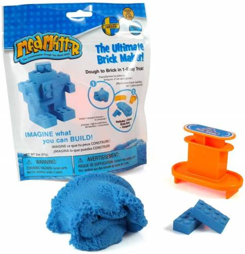 Mad Mattr The Ultimate Brick Maker 57g - Blue