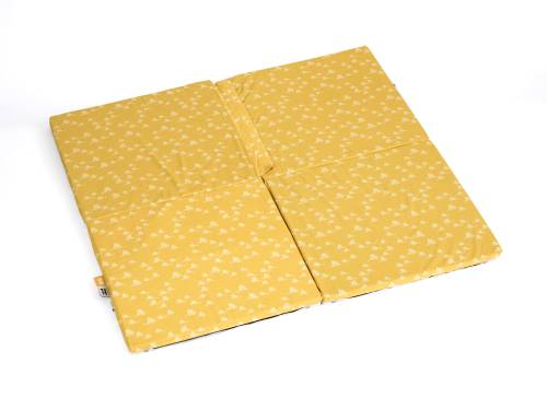 SIMPLY GOOD Portable Soft Mat - Grey White Hedgehogs/Yellow