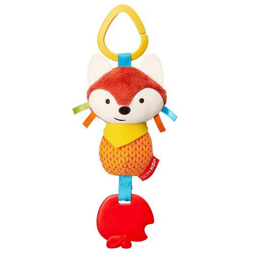 SKIP HOP Bandana Buddies Chime&Teethe Toy - Fox