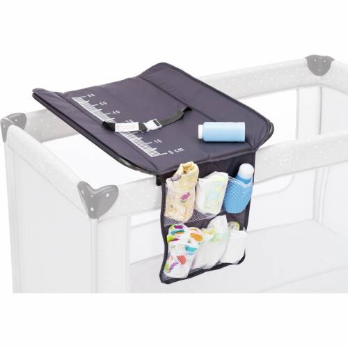 FILLIKID Changing Mat for Travel Cot - Grey