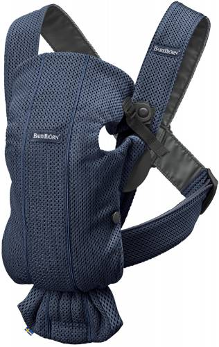 BABYBJORN Carrier Mini 3D Mesh Navy Blue