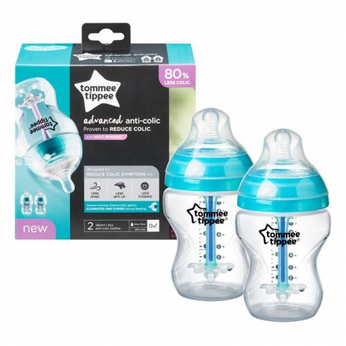 TOMMEE TIPPEE Bottle Anti-Colic set 260ml
