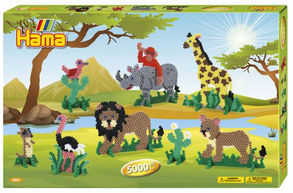 Hama Giant Gift Box - Safari