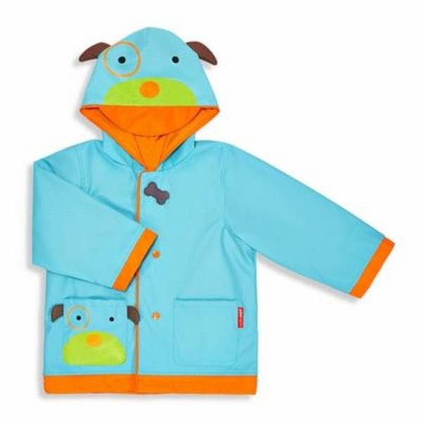 SKIP HOP Zoo Raincoat Dog Size 3-4