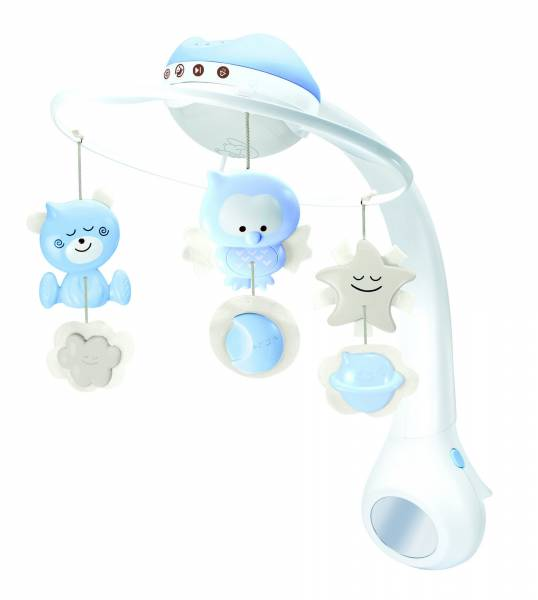 INFANTINO 3in1 Projector Musical Mobile - Blue