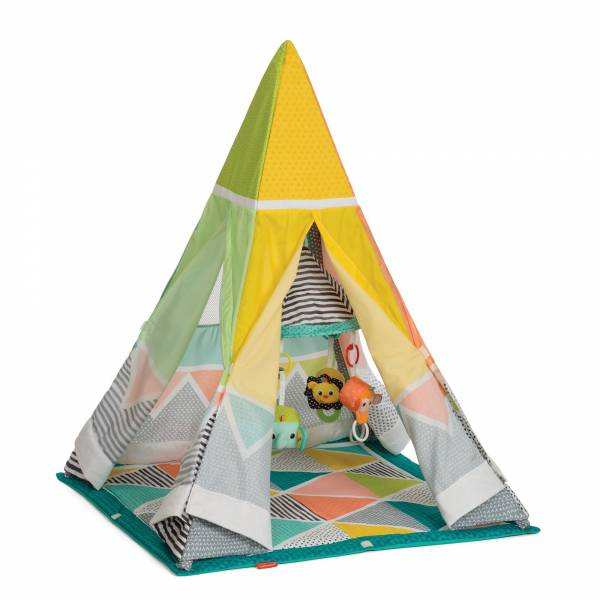 INFANTINO Activity Playtime Teepee Gym Grow with Me