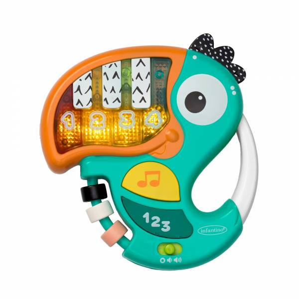 INFANTINO Piano & Numbers Learning Toucan