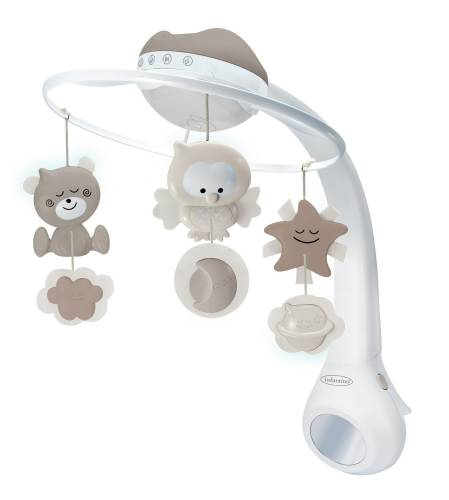 INFANTINO 3in1 Projector Musical Mobile - Ecru