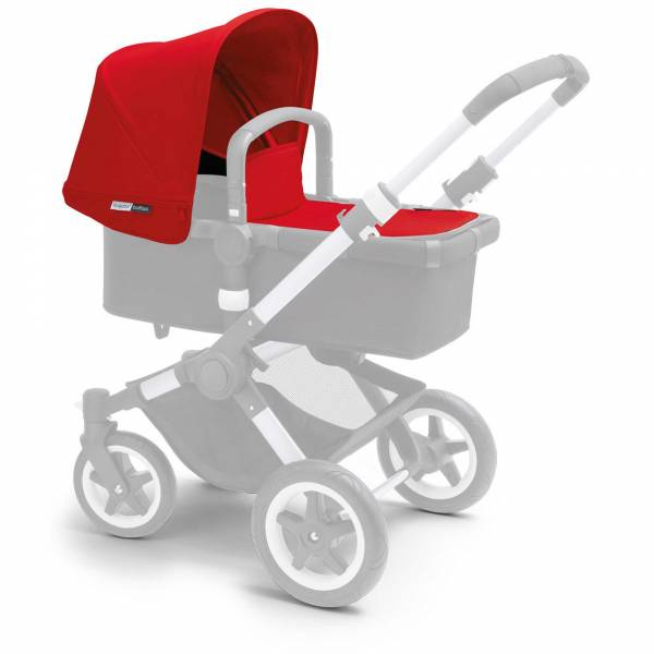 BUGABOO Buffalo Fabric Set Extendable  - Red