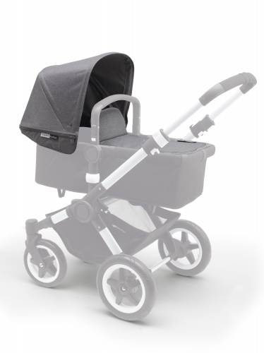 BUGABOO Donkey Fabric Set Extendable - Grey Melange