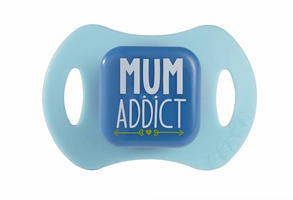 BEABA Soother x 2 Silicon 1st age Boys - Mum Dad