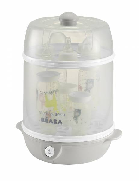 BEABA Steril Express 2in1 Steriliser - Grey